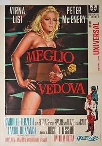 <i>Better a Widow</i> 1968 Italian comedy film directed by Duccio Tessari