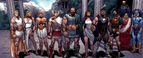Olympians (Marvel Comics) - Wikipedia