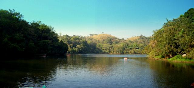 Boating in Pookode Lake