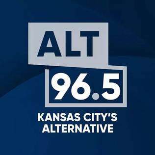 KRBZ alternative rock radio station in Mission, Kansas, United States