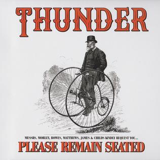 <i>Please Remain Seated</i> 2019 studio album by Thunder