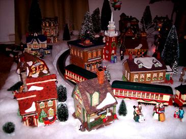 christmas village wikipedia