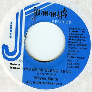 Sleng Teng 1985 single by Wayne Smith