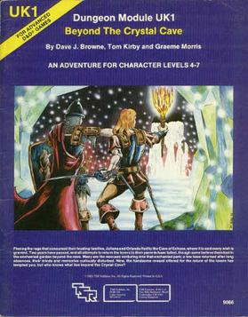 Cover of UK1 Beyond The Crystal Cave