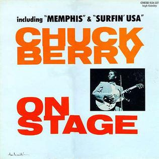 Chuck Berry On Stage artwork