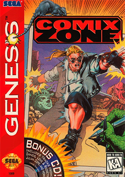 Comix Zone Coverart Games That Have a Special Place in your Heart