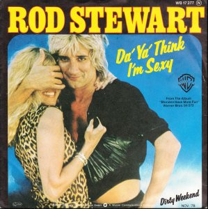 Rod Stewart — Da Ya Think I'm Sexy? (studio acapella)