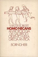 <i>Homo Necans</i> book by Walter Burkert