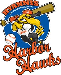 Hyannis Harbor Hawks Collegiate summer baseball team in Massachusetts