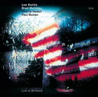 <i>Live at Birdland</i> (Lee Konitz album) 2011 live album by Lee Konitz