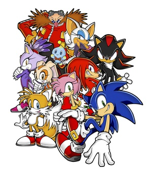 List Of Sonic The Hedgehog Characters Wikipedia
