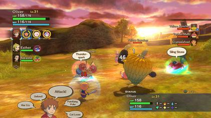 Ninokuni - the Another World DS Demo Gameplay