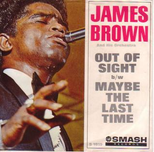 Out of Sight (song) single by James Brown