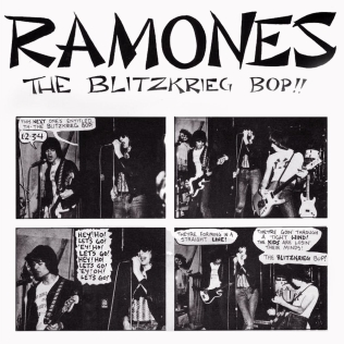 Blitzkrieg Bop song by the American punk rock band Ramones
