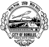 Official seal of Romulus, Michigan