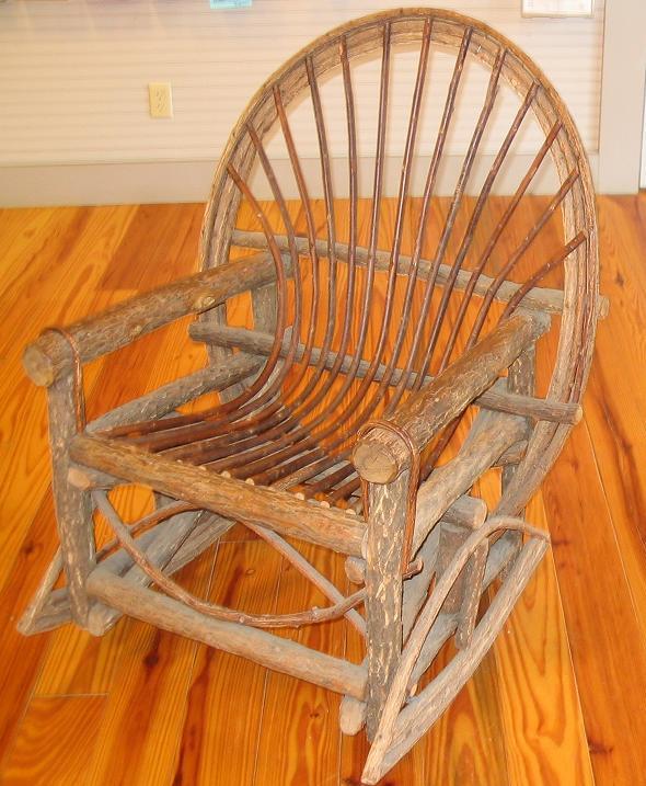 filerough wood rocking chairjpg - Wood Rocking Chair