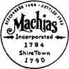 Official seal of Machias, Maine