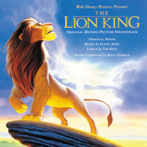 <i>The Lion King</i> (1994 soundtrack) 1994 soundtrack album by Elton John and Hans Zimmer with various artists