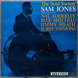 <i>The Soul Society</i> 1960 studio album by Sam Jones
