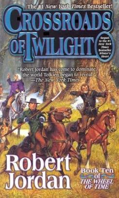Original cover of Crossroads of Twilight