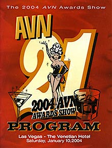 21st AVN Awards 2004 American adult industry award ceremony