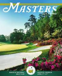 2014 Masters Tournament American golf tournament held in 2014