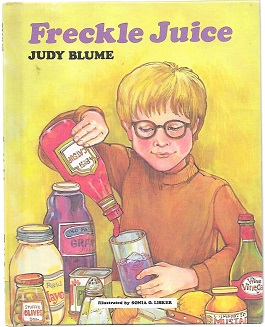 freckle juice by judy blume story Discover the hilarious and (not) entirely true story of lady jane grey start reading nook nook nook tablets the one in the middle is the green kangaroo freckle juice by judy blume, debbie ridpath ohi rediscover judy blume's beloved classic chapter books.