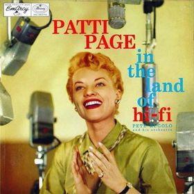 <i>In the Land of Hi-Fi</i> (Patti Page album) 1956 studio album by Patti Page