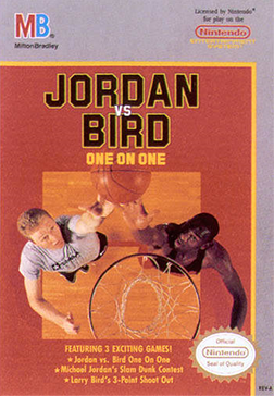 Michael Jordan vs Larry Bird One on One Sega Genesis Video ...