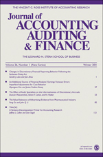 Journal of Accounting, Auditing & Finance Journal Front Cover.jpg