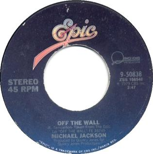 Off the Wall (Michael Jackson song) song by Michael Jackson from the namesake album