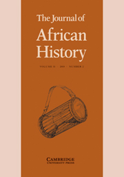 <i>The Journal of African History</i> Academic journal