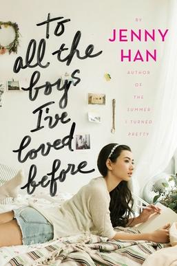Image result for to all the boys i've loved before book cover