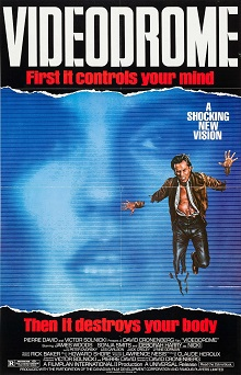 Videodrome (1983) movie poster