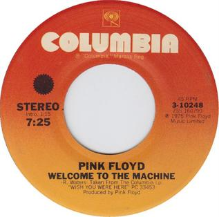 Welcome to the Machine Song by Pink Floyd