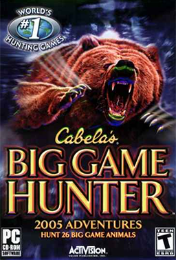 Cabela's Big Game Hunter 2005 Adventures Coverart.png
