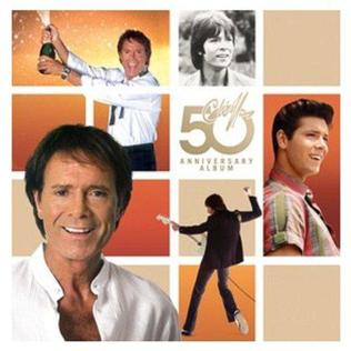 <i>The 50th Anniversary Album</i> 2008 compilation album by Cliff Richard