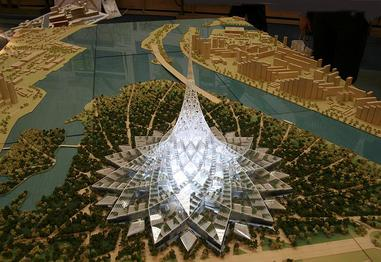 Crystal island wikipedia for Largest house plans in the world