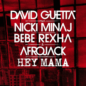 David Guetta featuring Nicki Minaj and Afrojack — Hey Mama (studio acapella)
