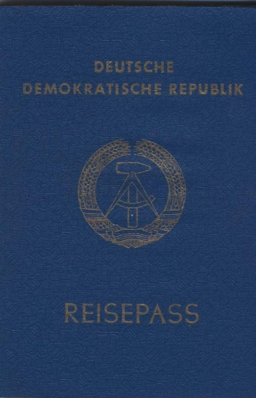 der DDR Reisepass