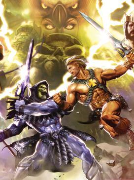 Resultado de imagem para he-man and the masters of the universe dc comics
