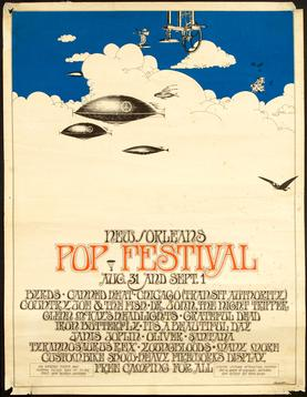 New Orleans Pop Festival Wikipedia