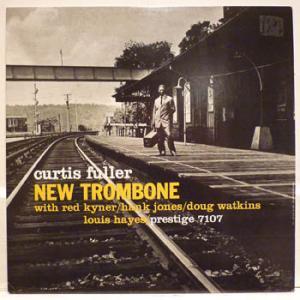 <i>New Trombone</i> 1957 studio album by Curtis Fuller
