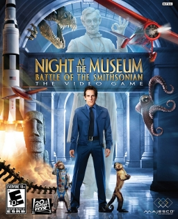 <i>Night at the Museum: Battle of the Smithsonian</i> (video game) 2009 video game