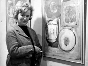 Gillian Ayres British artist