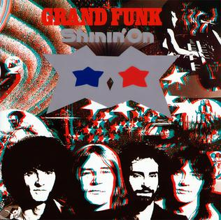 <i>Shinin On</i> 1974 studio album by Grand Funk Railroad