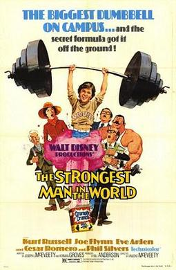 Film poster for The Strongest Man in the World...