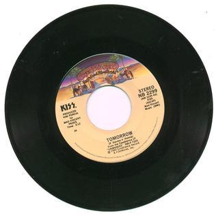 Tomorrow (Kiss song) 1980 song by Kiss