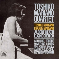 <i>Toshiko–Mariano Quartet (in West Side)</i> 1963 studio album by Toshiko Akiyoshi, Charlie Mariano