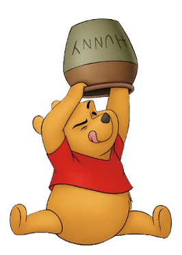 Pooh as realised by Disney